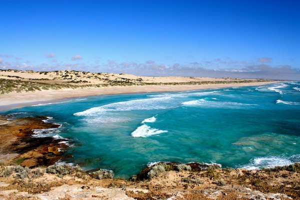 Talia beaches in South Australia from Coodlie Park
