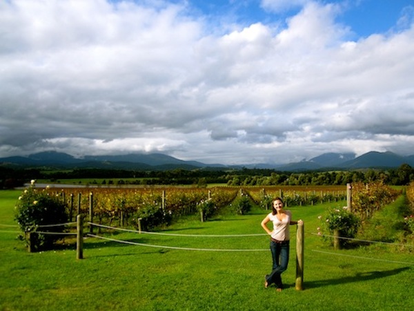 Christine Amorose in the Yarra Valley, Victoria, Australia