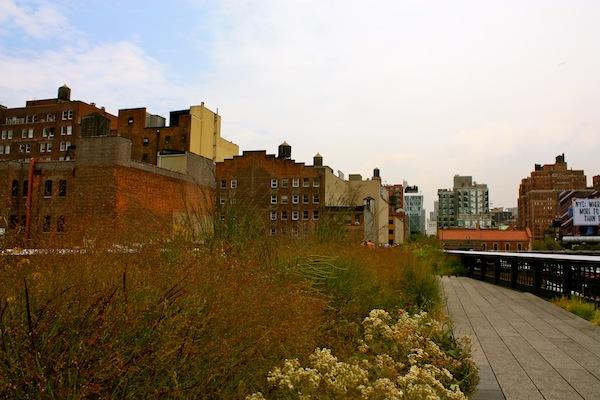 The High Line in Chelsea, New York City