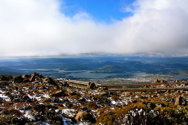 Mount Wellington in Hobart, Tasmania, Australia