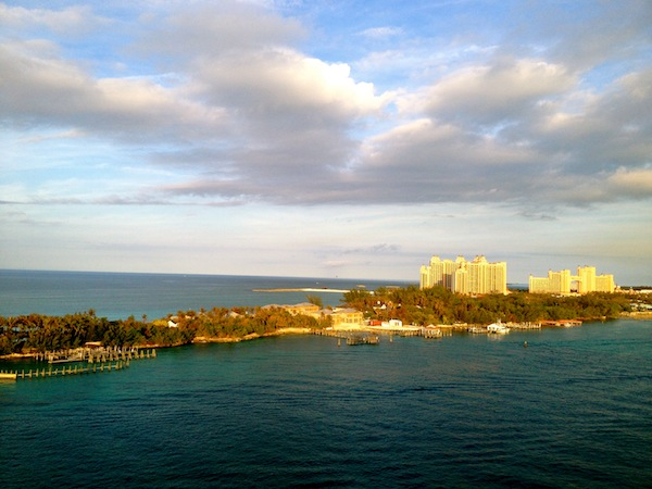 The Atlantis resort in the Caribbean in Nassau, the Bahamas