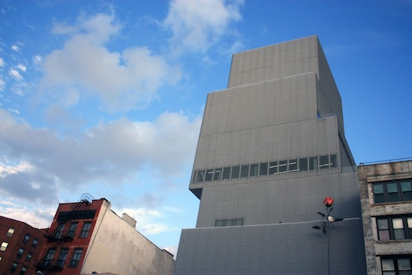 The New Museum in the Bowery, New York City