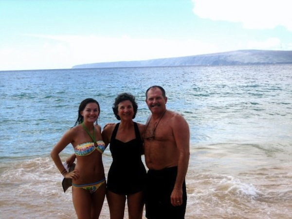 My family in Hawaii in 2007