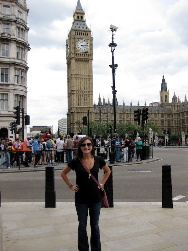Christine Amorose in London, England in 2009