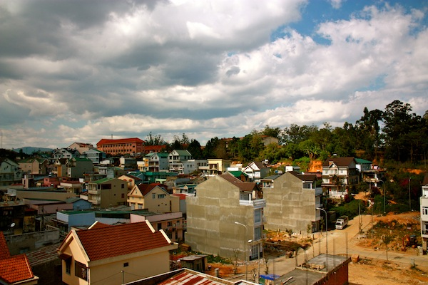 Clouds over Dalat, Vietnam