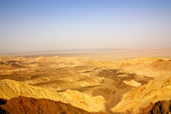 The desert in Jordan