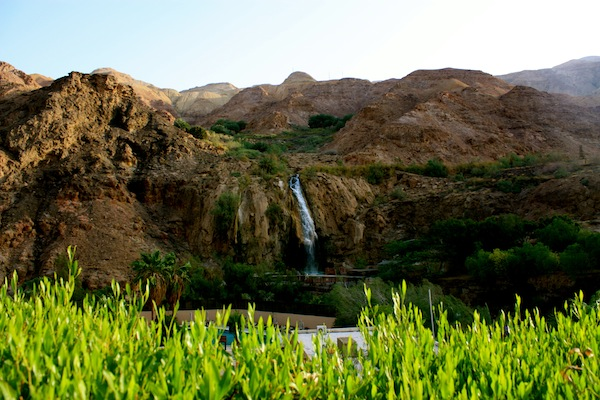Ma'In Hot Springs and Waterfall Resort in Jordan