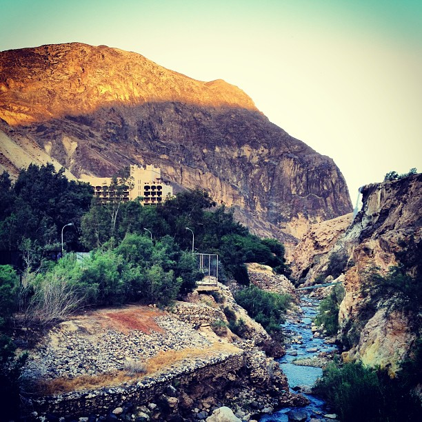 Ma'In Six Senses Resort, Hot Springs and Waterfall in Jordan