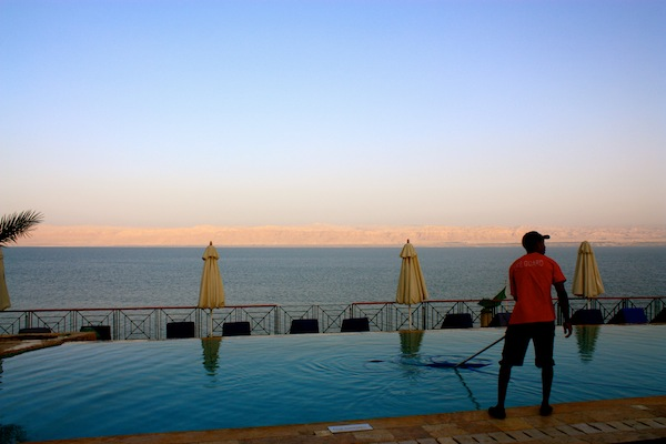 The Movenpick Dead Sea resort in Jordan