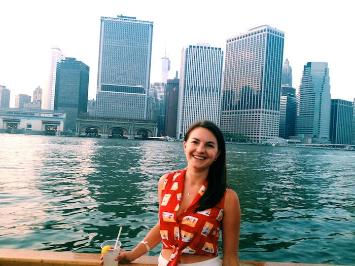 Christine Amorose on Clipper City, Manhattan by Sail