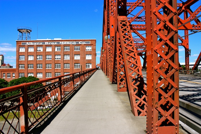Bridge in Portland, Oregon