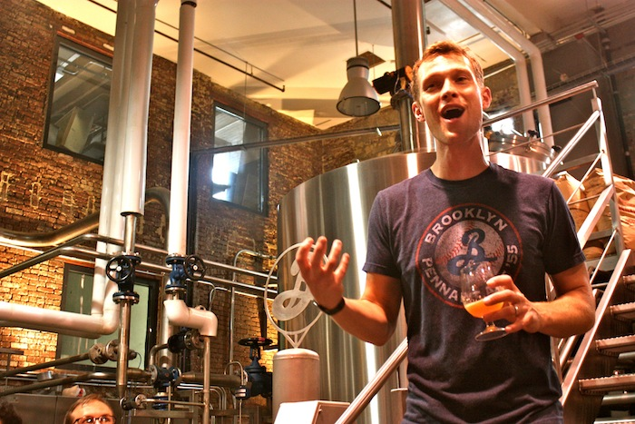 Brooklyn Brewery Tour in New York City