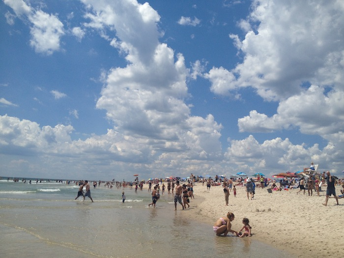 Robert Moses beach in New York