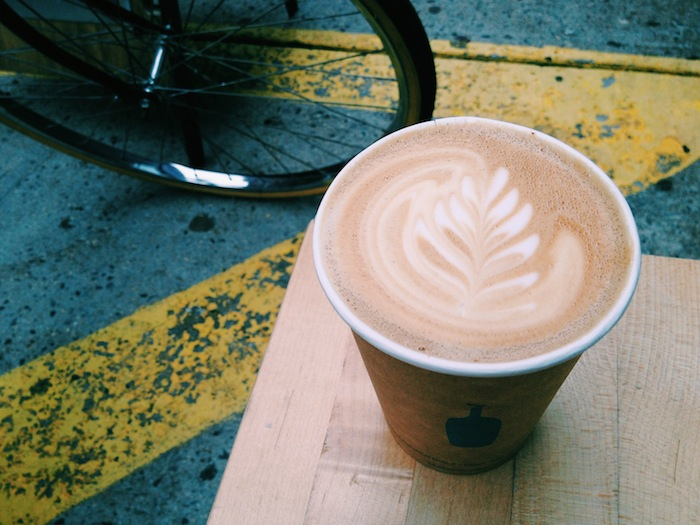 Blue Bottle Coffee in Chelsea, New York