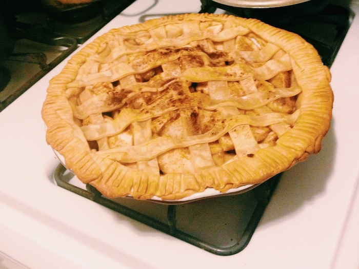Homemade apple pie, Processed with VSCOcam with c1 preset