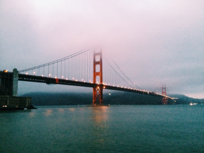 Golden Gate Bridge in San Francisco, Processed with VSCOcam with c1 preset