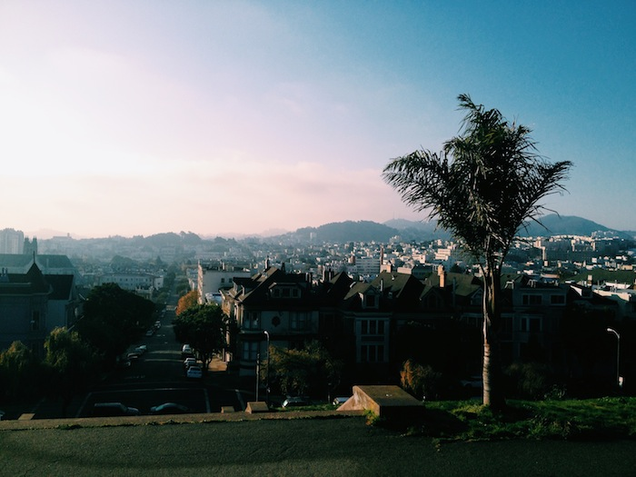 San Francisco hills, Processed with VSCOcam with c1 preset