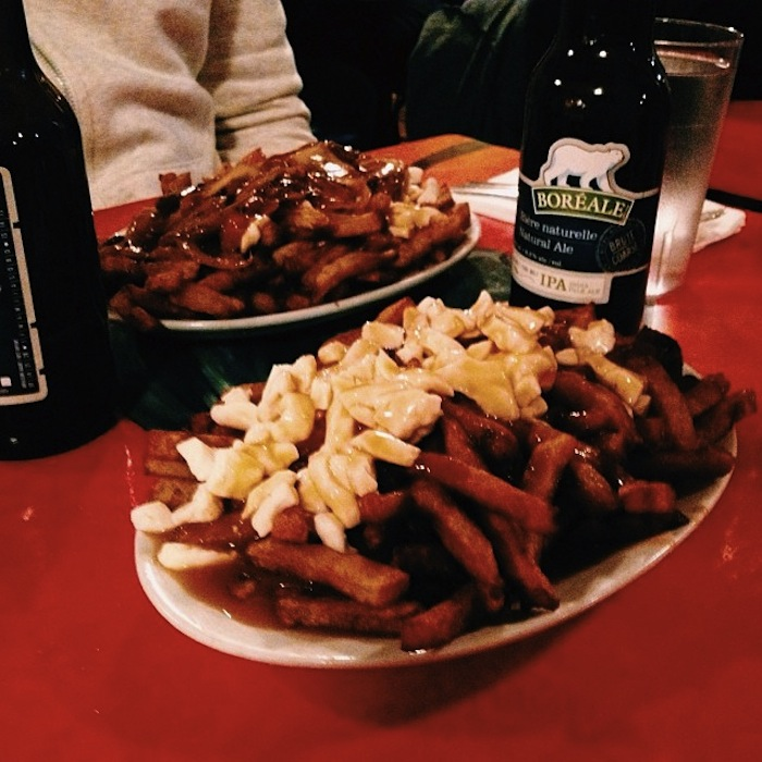 Poutine at La Banquise in Montreal