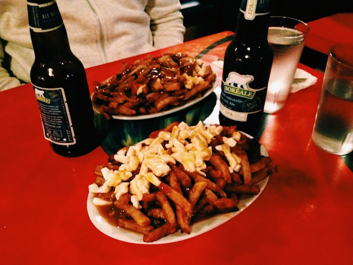 Traditional Montreal poutine