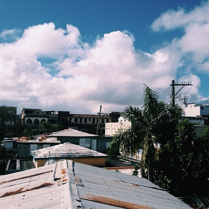 View from Island Time Hostel in San Juan, Puerto Rico