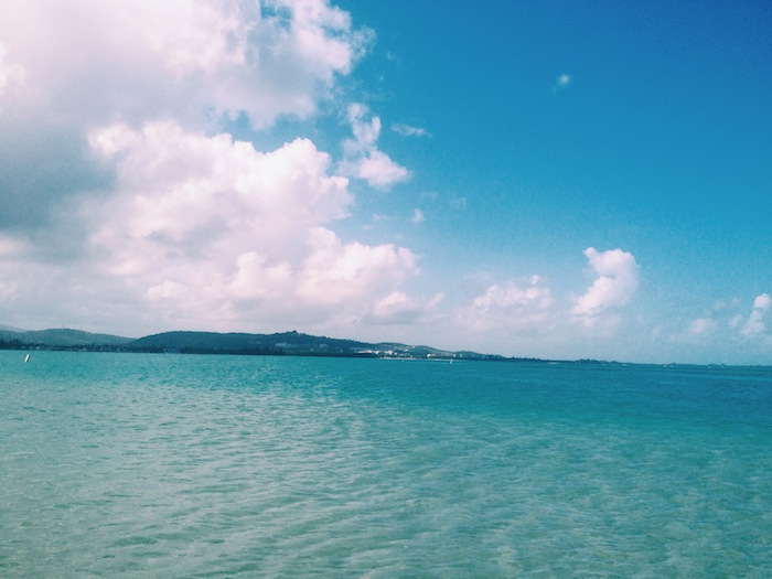 Luquillo Beach, Puerto Rico, Processed with VSCOcam with c1 preset