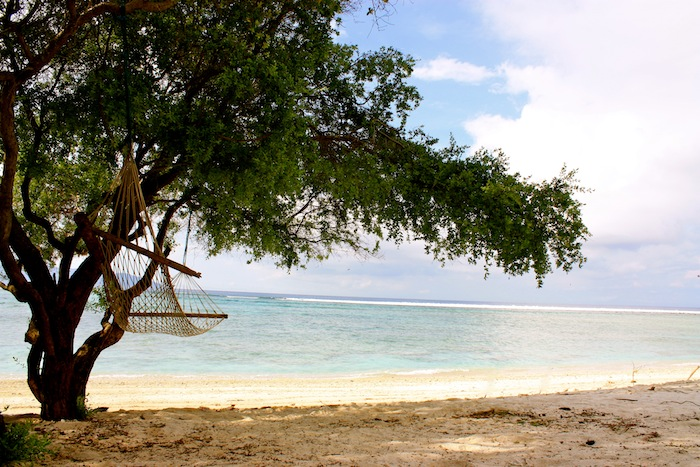 Hammock in Gili Trawangan, Indonesia