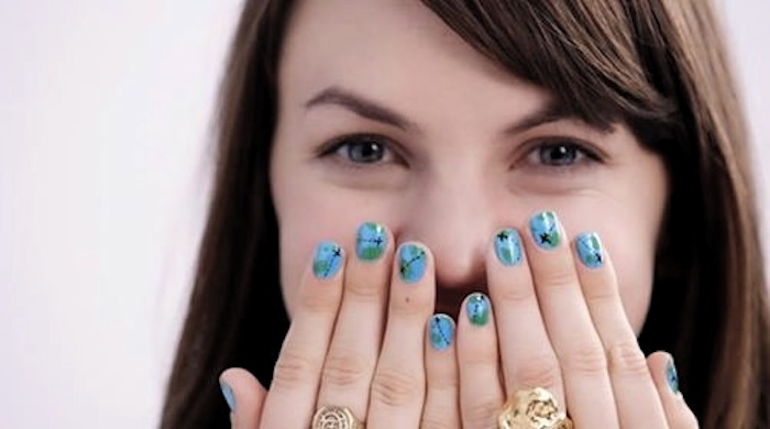Christine Amorose for Sally Hansen #ShineOn Campaign