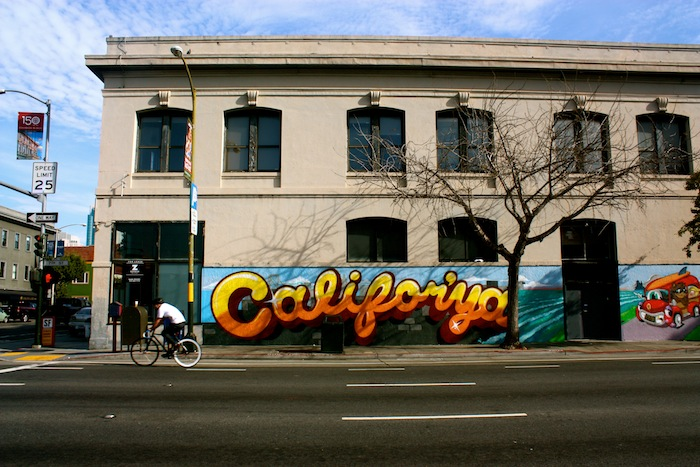 California street art in San Francisco