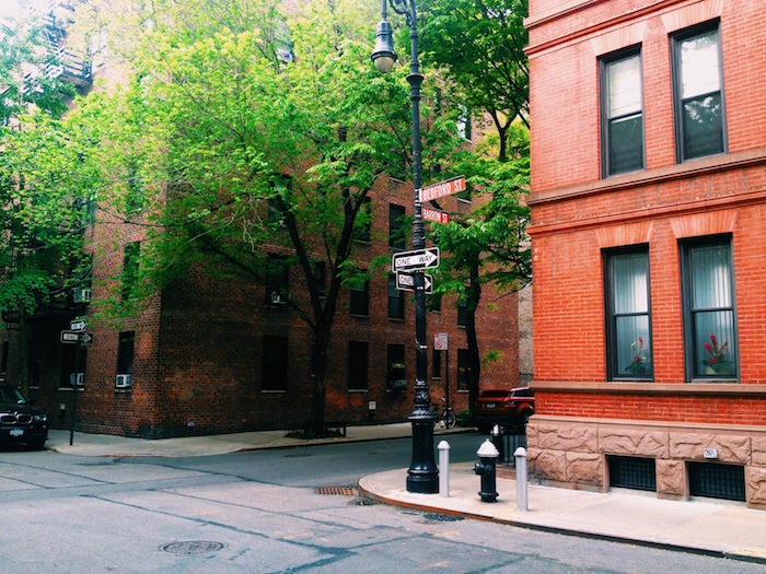 West Village in the morning, New York CIty