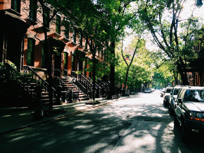 Streets in the West Village, New York City