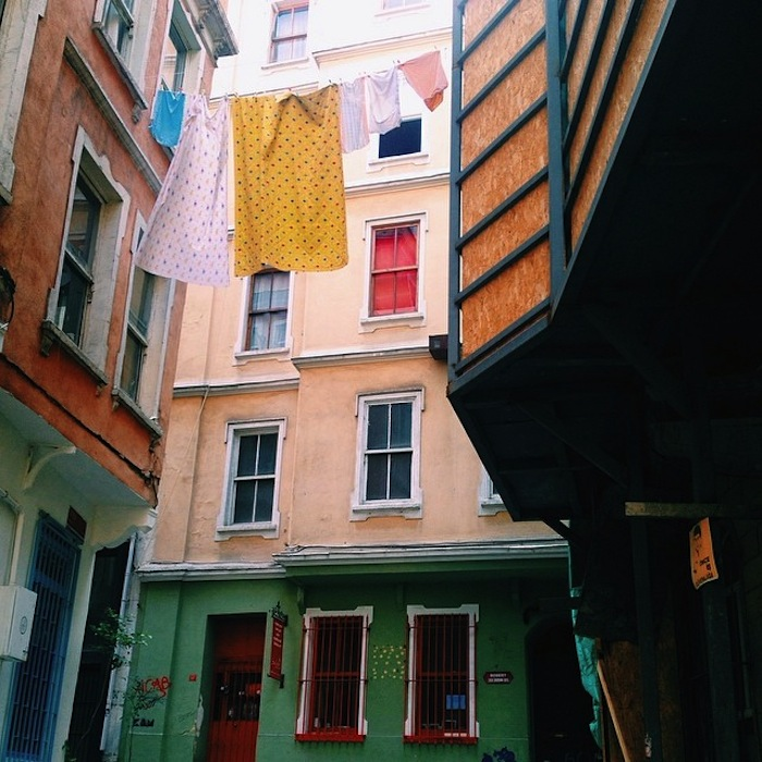 The back streets of Istanbul, Turkey