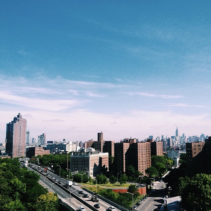 View from a Brooklyn rooftop