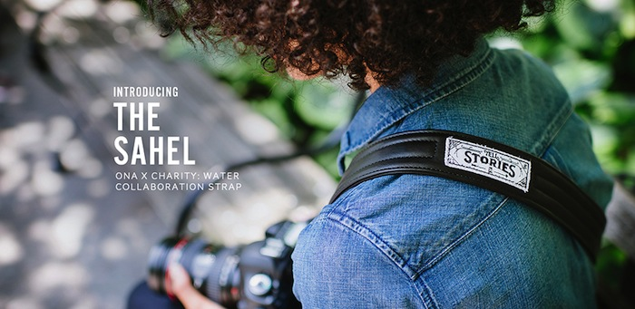 The ONA x charity: water Sahel Strap