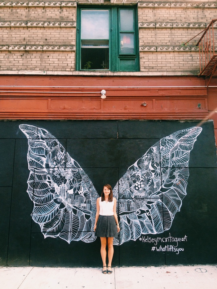 #Whatliftsyou mural in SoHo, New York City