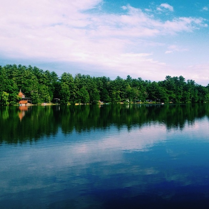 Prospect Lake in the Berkshires, Mass.