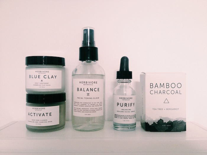 Herbivore Botanicals natural beauty skincare