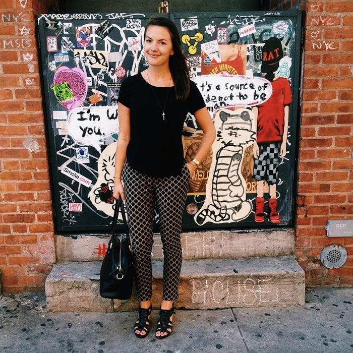 Christine Amorose on the Lower East Side