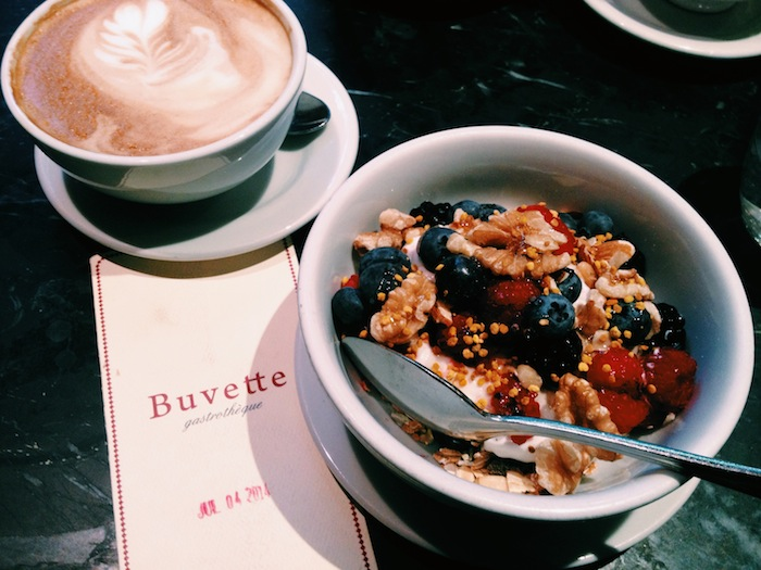Breakfast at Buvette in West Village
