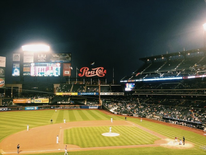 Mets game at Citi Field