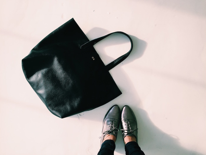 Cuyana Leather Tote: Fewer, Better Gifts