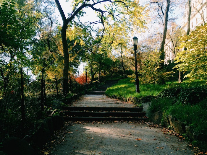 Morningside Park in New York City