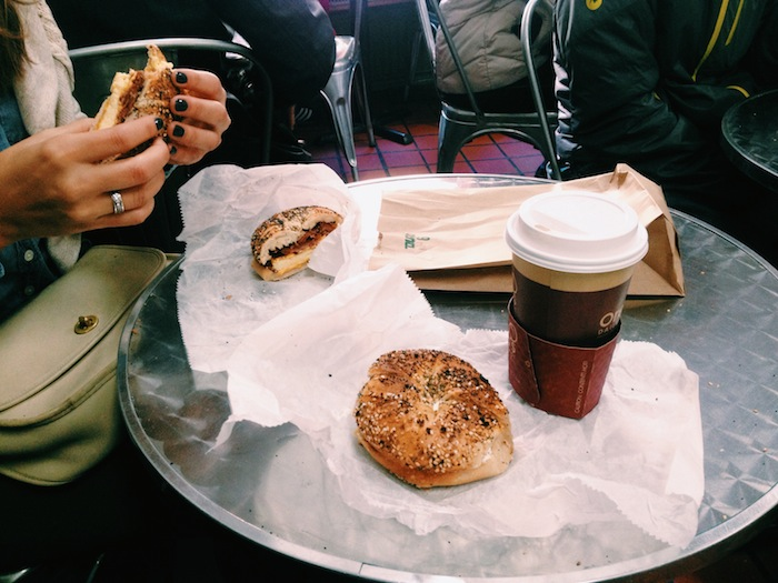 Absolute Bagels in New York City