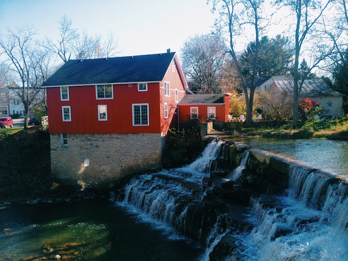 Honeoye Falls in upstate New York