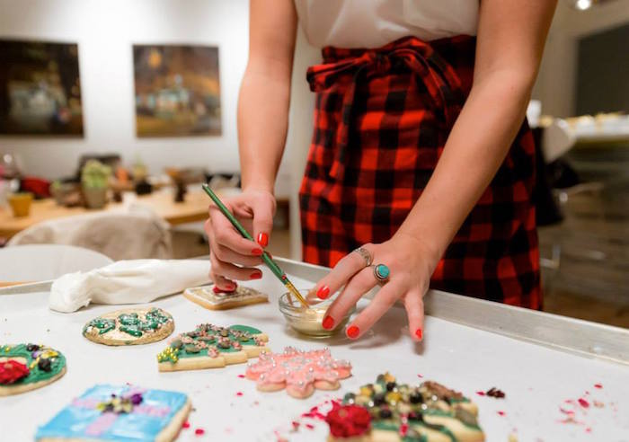 Cookie decorating with Salthouse Market
