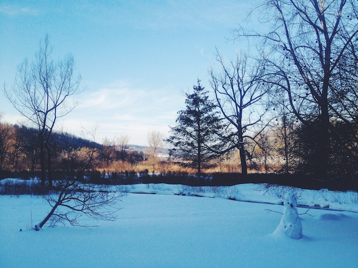 Shaker Mill Inn in Berkshires in winter