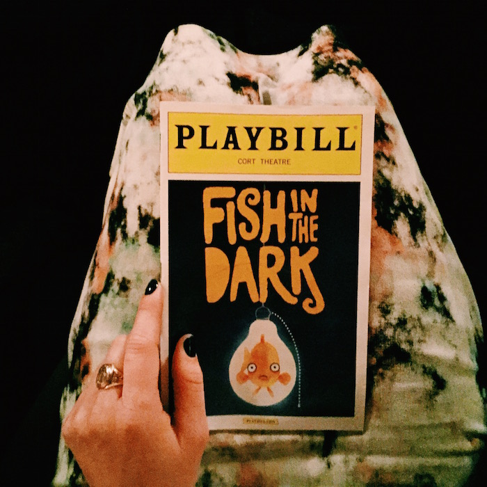 Fish in the Dark Broadway date night