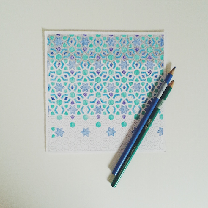 Anti-stress coloring books