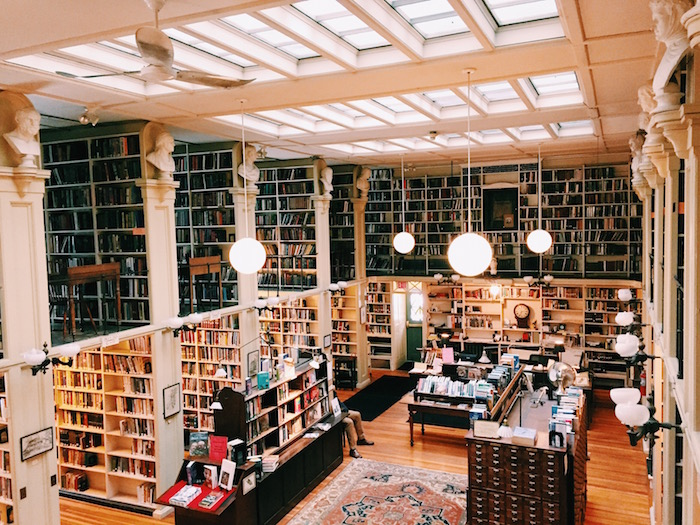 Providence Athenaeum Library in Rhode Island