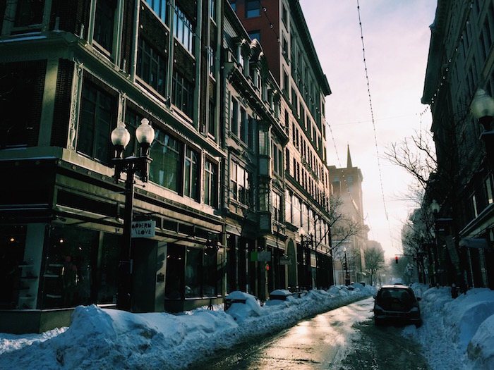 Winchester Street in Providence, Rhode Island