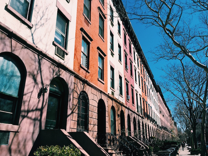 Houses in Chelsea, New York City